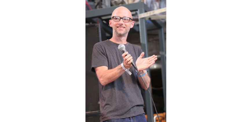 Moby Talks Animals in Brand