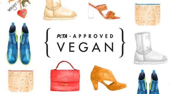 PETA Approved Vegan Fashion Banner Illustration