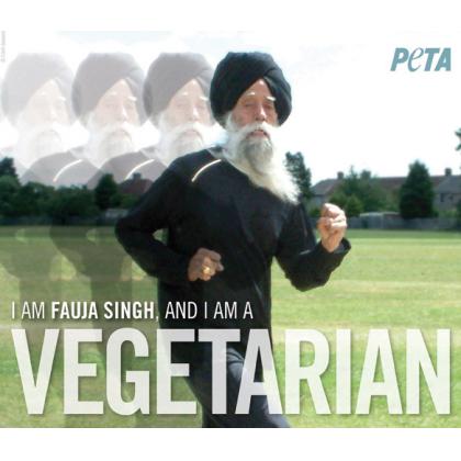 Fauja Singh: I Am a Vegetarian