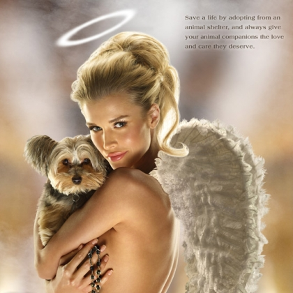 Joanna Krupa: Be an Angel for Animals