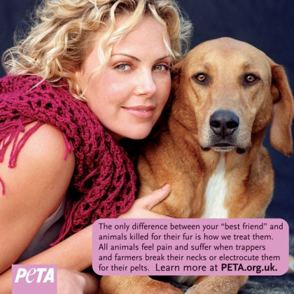 Charlize Theron: If You Wouldn't Wear Your Dog, Don't Wear Any Fur