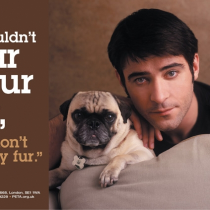 Goran Visnjic: If You Wouldn't Wear Your Dog, Don't Wear Any Fur