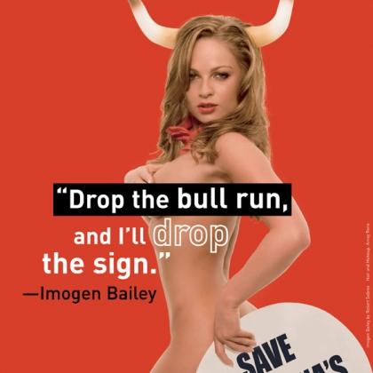 Imogen Bailey: Drop the Bull Run