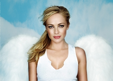 Neighbours' Imogen Bailey Earns Her Wings in Sexy Anti-Fur Ad