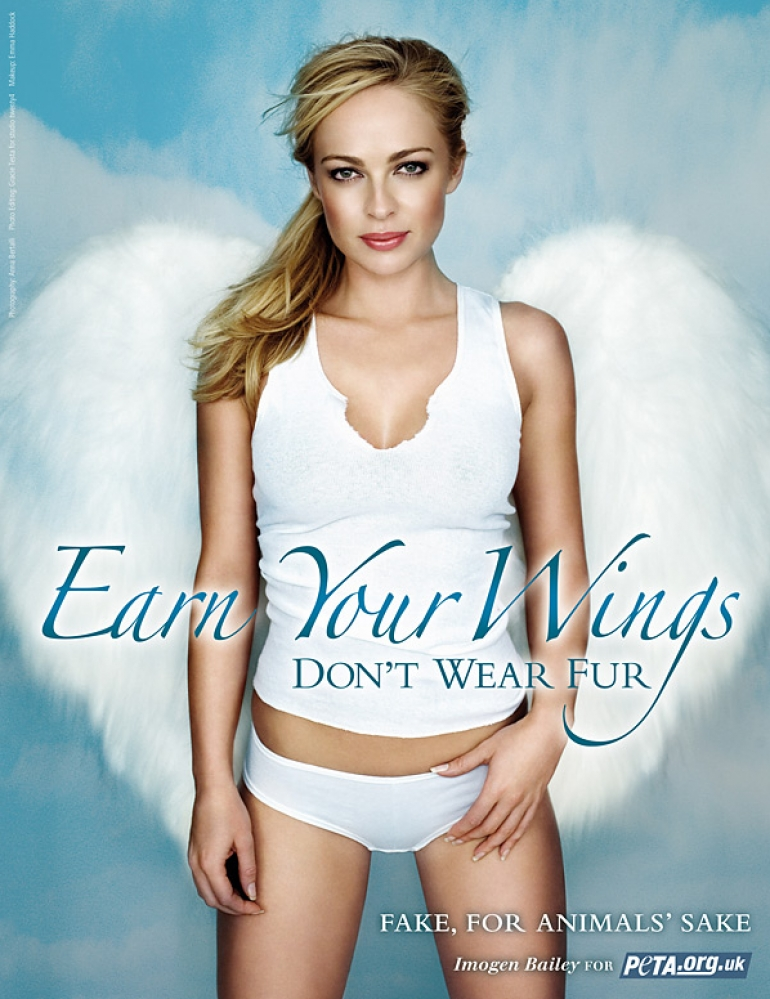 Imogen Bailey: Earn Your Wings – Don't Wear Fur