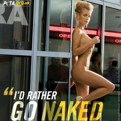 Joanna Krupa: I'd Rather Go Naked Than Wear Fur (2)