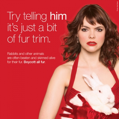 Kate Ford: Try Telling Him It's Just a Little Fur Trim