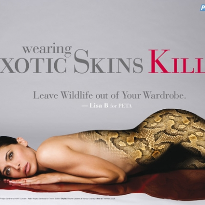 Lisa B: Wearing Exotic Skins Kills