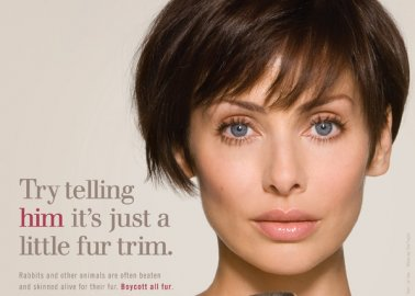Natalie Imbruglia: Try Telling Him It's Just a Little Fur Trim