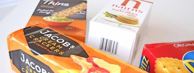 Vegan-crackers