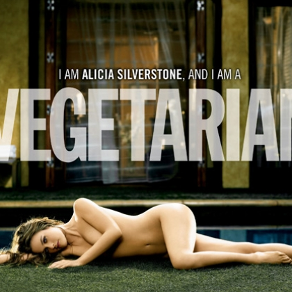 Alicia Silverstone: I Am a Vegetarian (Horizontal)