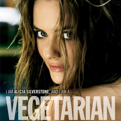 Alicia Silverstone: I Am a Vegetarian (Vertical)