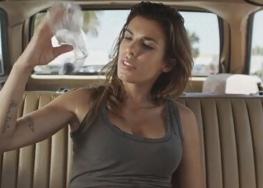 Elisabetta Canalis Demonstrates the Dangers of Leaving Dogs in Parked Cars
