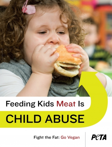 Feeding Kids Meat is Child Abuse
