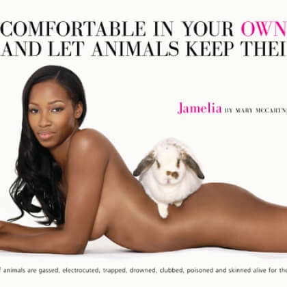Jamelia: Be Comfortable in Your Own Skin