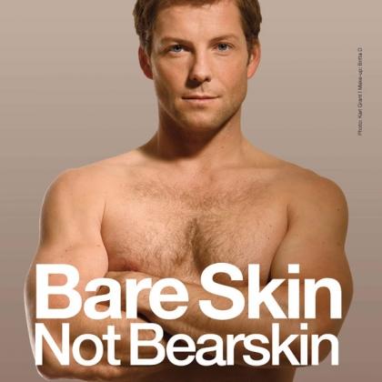 Jamie Bamber: Bare Skin, Not Bearskin