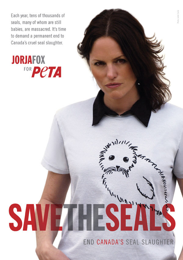 Jorja Fox: Save the Seals