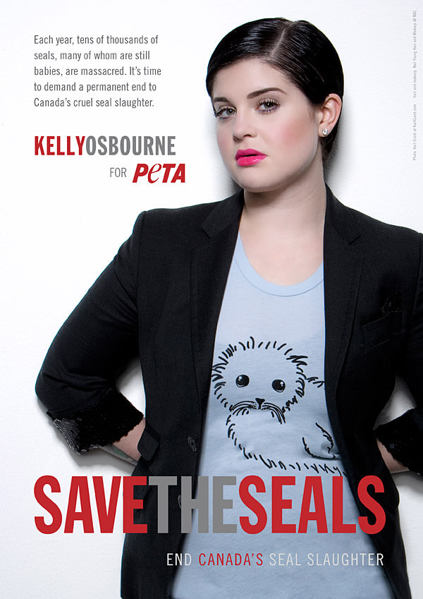 Kelly Osbourne: Save the Seals
