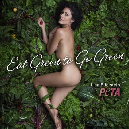 Lisa Edelstein: Eat Green to Go Green