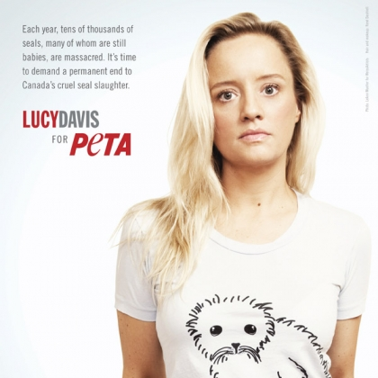 Lucy Davis: Save the Seals