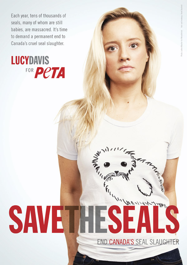 Lucy Davis: Save the Seals