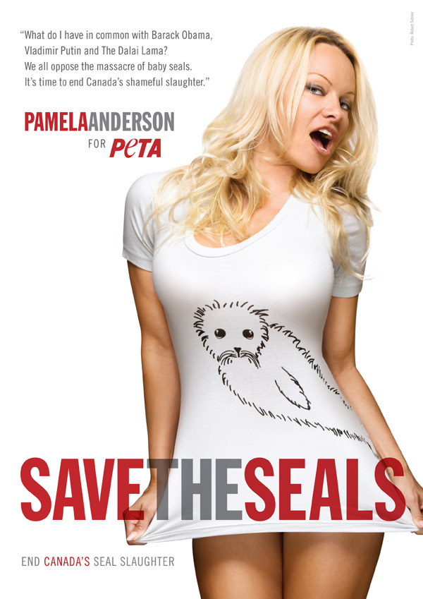 Pamela Anderson: Save the Seals