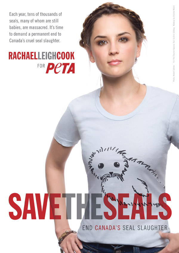 Rachael Leigh Cook: Save the Seals