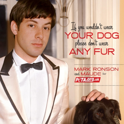 Mark Ronson: If You Wouldn't Wear Your Dog, Please Don't Wear Any Fur