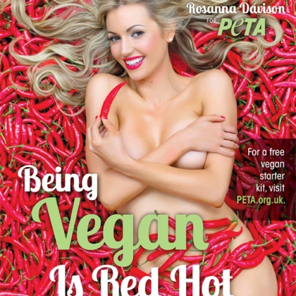 Rosanna Davison: Being Vegan is Red Hot