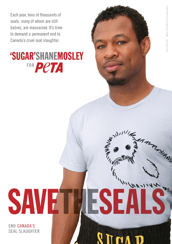 Sugar Shane Mosley: Save the Seals
