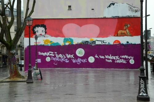 PETA Paris Mural