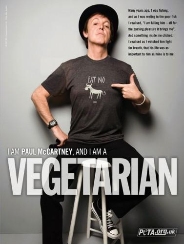 Sir Paul McCartney's PETA Ad