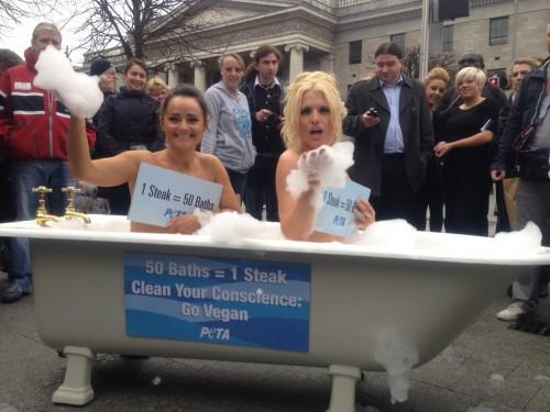 PETA's Bathing Beauties