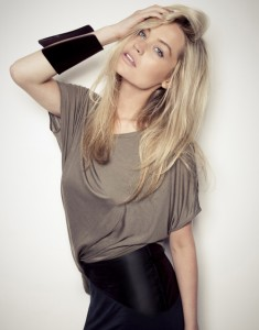 MTV Europe host Laura Whitmore teams up with PETA for vegan fashion content