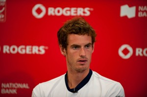Andy Murray topless