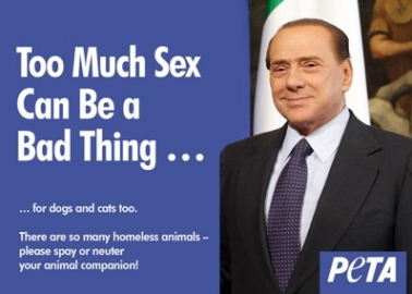 Silvio Berlusconi 'Too Much Sex Can Be a Bad Thing'