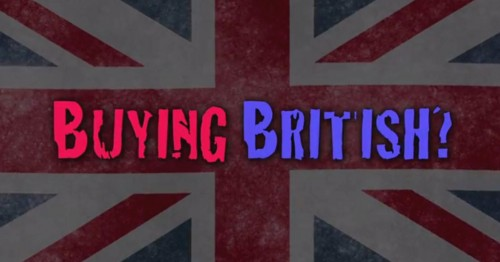 Buying British FB copy