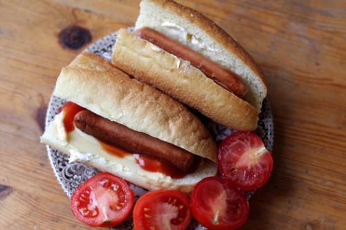 CC sausage sandwich