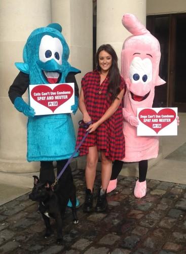 Charlotte Crosby and the Giant Condoms