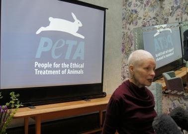 PHOTOS: Vivienne Westwood's PETA Ad Launch