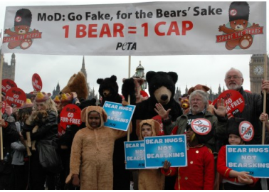 Hundreds March Through London With Plea To 'Spare The Bears'
