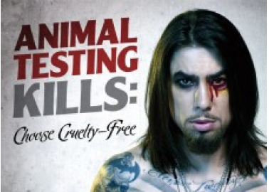 Dave Navarro Rocks the Cruelty-Free Look