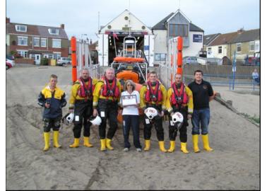 Ferret-Fetching Lifeboat Crew Wins Hero to Animals Award!