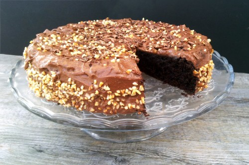 Annabelle's double chocolate cake from The Flexitarian