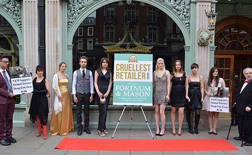 Fortnum's gets PETA's Cruellest Retailer Award