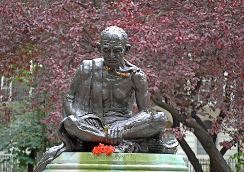 Gandhi taught that nonviolence begins with what we eat.