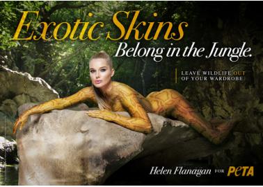 Helen Flanagan: Exotic Skins Belong in the Jungle!
