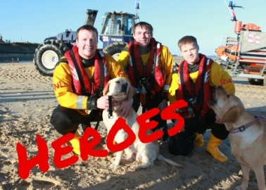 WATCH: The Most Heartwarmimg Lifeboat Rescue Ever