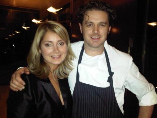Joanna with Jock Zonfrillo