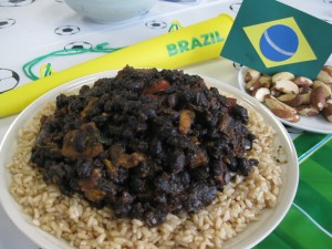 Vegan Brazilian Feijoada (Black-Bean Stew)